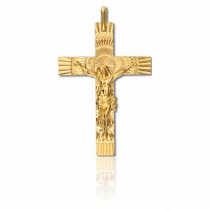 Christ en croix , Or jaune 9K - Lucas Lucor