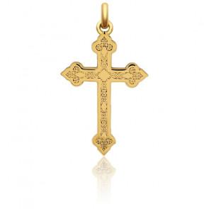 Croix Gothique, Or Jaune 18K - Becker