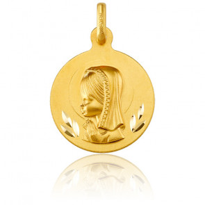 Médaille Vierge Marie, Or jaune 18K - Argyor