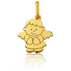 Pendentif ange petit garçon, Or jaune 18 carats - Argyor