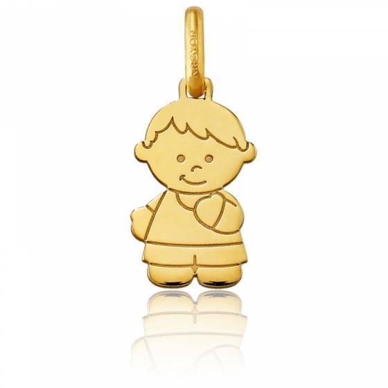 Pendentif petit garçon, Or jaune 18 carats - Argyor