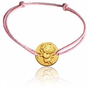 Bracelet cordon Précieuse, Or jaune 9K - La Fée Galipette