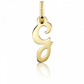 Pendentif lettre G, Or jaune 18 carats - Argyor