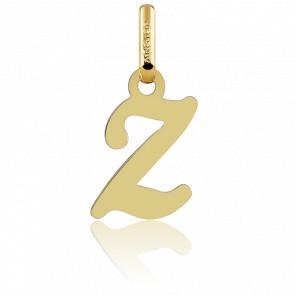 Pendentif lettre Z, Or jaune 18 carats - Argyor