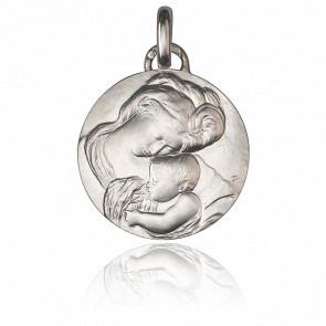 Médaille Madone du Caravage, Argent massif - Monnaie de Paris