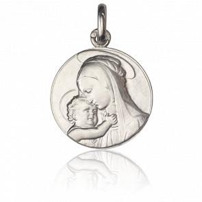 Médaille Vierge de Botticelli, Argent massif - Monnaie de Paris