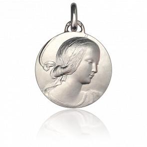 Médaille Vierge de Milan, Argent massif - Monnaie de Paris