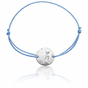 Bracelet Petit Prince Planète bleu, Argent - Monnaie de Paris