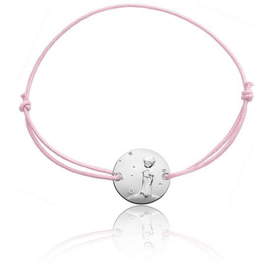 Bracelet Petit Prince Planète rose, Argent - Monnaie de Paris