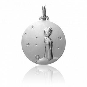 Médaille Petit Prince planète, Argent massif - Monnaie de Paris