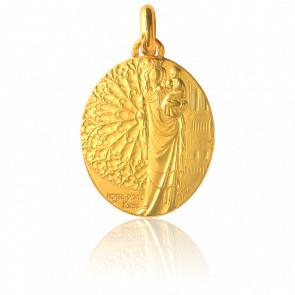 Médaille Notre-Dame de Paris, Or jaune 18K - Monnaie de Paris
