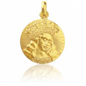 Médaille Vierge de Van Eyck, Or jaune 18K - Monnaie de Paris