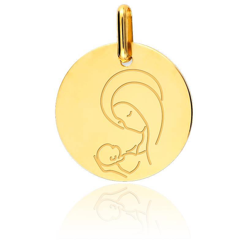 Beliebt Médaille de baptême Or jaune - Médaille Précieuse EK33