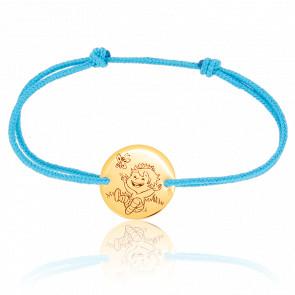 Bracelet Blagueur Nature, Or jaune 9K - La Fée Galipette