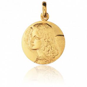 Médaille Ange Léonard de Vinci, Or jaune 18K - Monnaie de Paris