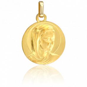 Médaille de la Vierge vêtue, Or jaune 9K - Lucas Lucor