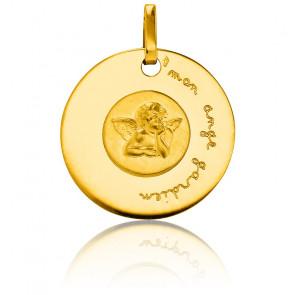 Médaille Mon Ange Gardien, Or jaune 18K - Pichard-Balme