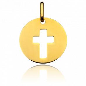 Médaille de la Sainte Croix, Or jaune 18K - Pichard-Balme