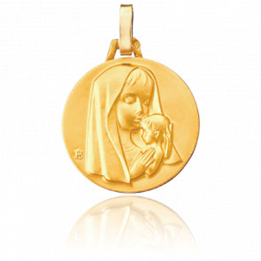 Médaille Maternité Moderne, Or jaune 18K - Pichard-Balme