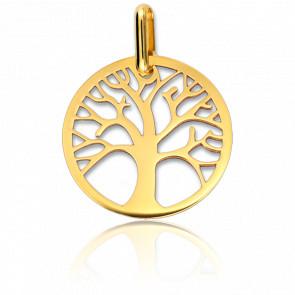 Médaille Arbre de Vie ajourée, Or jaune 18K - Lucas Lucor