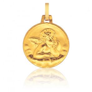 Médaille Ange Raphaël, Or jaune 9K - Pichard-Balme