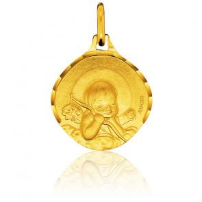 Médaille Ange à l'Arc, Or Jaune 18K - Augis