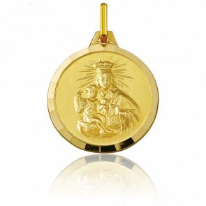 Médaille Scapulaire du Mont Carmel, Or Jaune 18K - Argyor