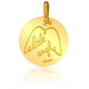 Médaille Little Angel, Or Jaune 18K - Augis