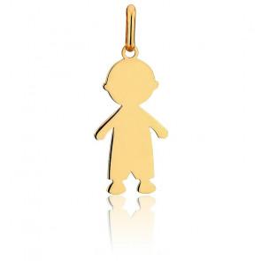 Pendentif petit garçon, Or jaune 18K - Lucas Lucor