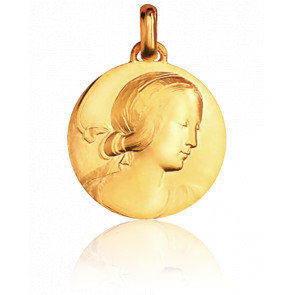 Médaille Vierge de Milan, Or jaune 18K - Monnaie de Paris