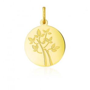 Pendentif Arbre de Vie bonheur, Or jaune 18 carats - Argyor
