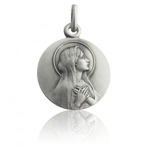Médaille Virgo Maria, Argent massif - Martineau