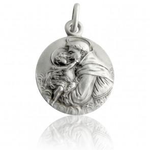 Médaille Saint Antoine, Argent massif - Martineau
