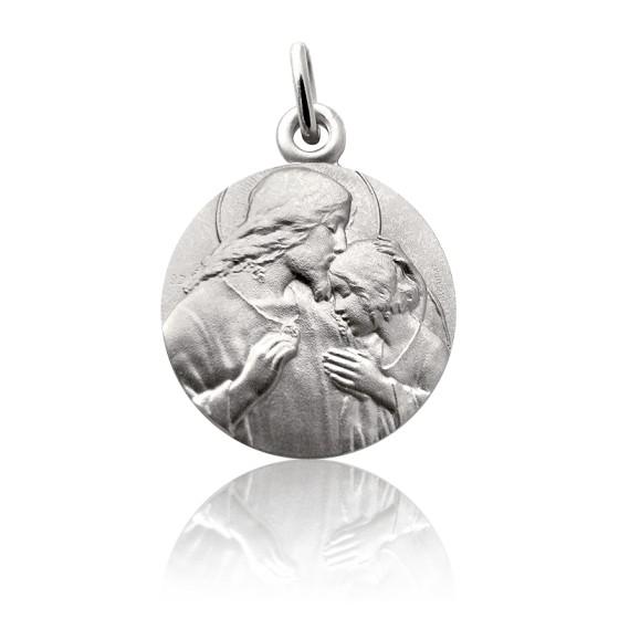 Médaille Communion, Argent massif - Martineau