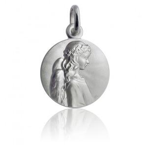 Médaille Ange Apaisé, Argent massif - Martineau