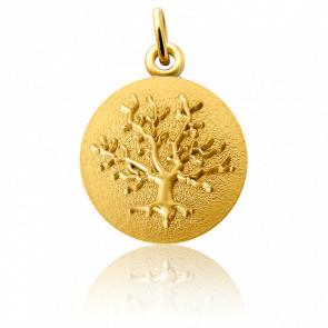 Médaille Arbre de Vie, Or jaune 18 carats - Martineau
