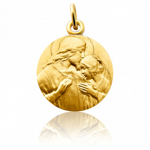 Médaille Communion, Or jaune 18 carats - Martineau