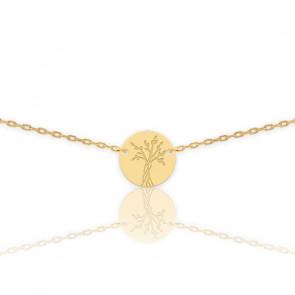 Collier Arbre de Vie, Or jaune 18 carats - Lucas Lucor