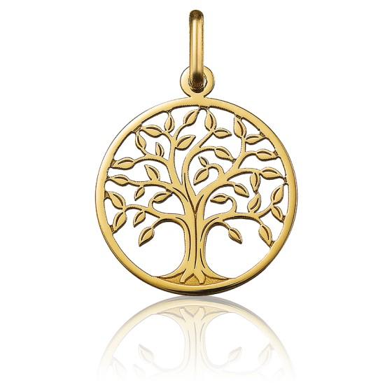 Médaille Arbre de Vie ajourée, Or jaune 18 carats - Argyor