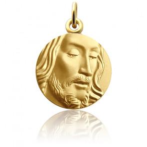 Médaille Visage de Jésus, Or Jaune 18K - Martineau
