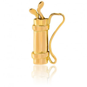 Pendentif sac de golf, Or jaune 9 ou 18 carats - Lucas Lucor