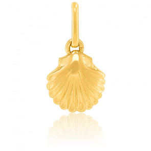 Pendentif Coquillage, Or jaune 9 ou 18 carats - Lucas Lucor