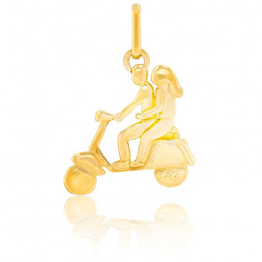 Pendentif Scooter, Or jaune 18K - Lucas Lucor