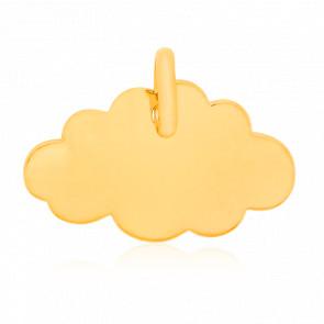 Pendentif nuage, Or jaune 18 carats - Argyor