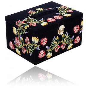 Boîte à Bijoux ZOE Indigo Medium 393116 - Wolf 1834