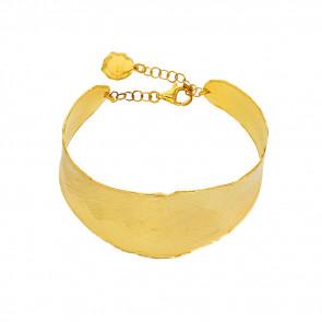 Bracelet jonc grand Antic  , Argent doré - Rosatella