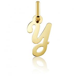 Pendentif lettre Y, Or jaune 18 carats - Argyor
