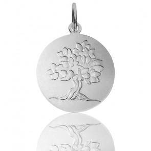 Médaille Arbre de vie feuillage printanier, Argent - Monnaie de Paris