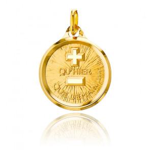 Médaille d'Amour, Or Jaune 18K - Augis