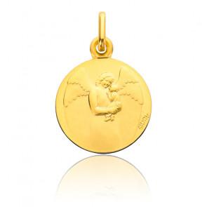 Médaille Ange Gardien Bébé, Or Jaune 18K - Augis